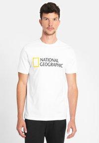 National Geographic - Print T-shirt - white - 0