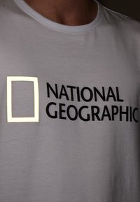 National Geographic - Print T-shirt - white - 3