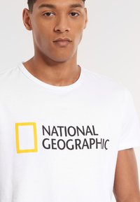 National Geographic - Print T-shirt - white - 2