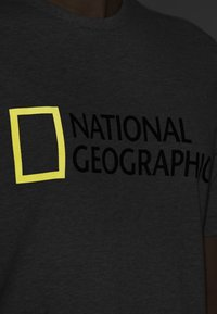 National Geographic - Print T-shirt - light grey melange - 3