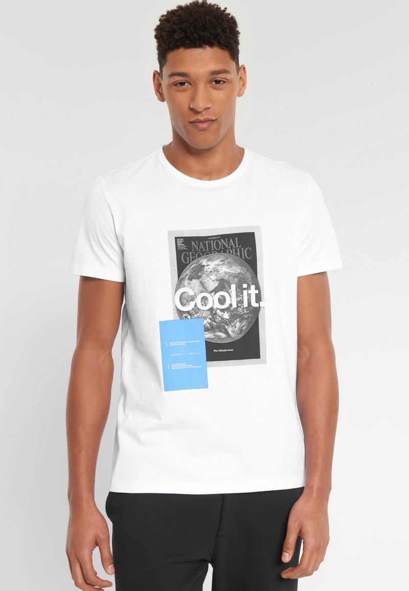 National Geographic - Print T-shirt - white