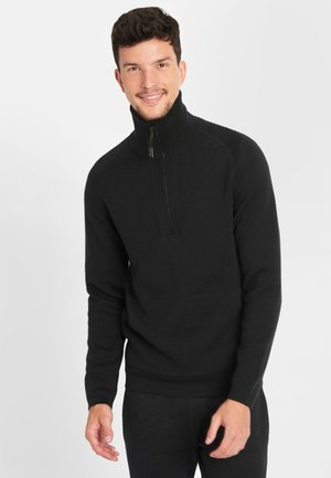 TROYER - Jumper - black