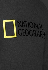 National Geographic - WITH LOGO - Sweatshirt - light grey melange - 3