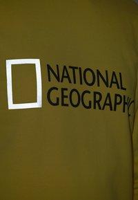 National Geographic - WITH LOGO - Sweatshirt - lemon chrome - 3