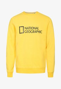 National Geographic - WITH LOGO - Sweatshirt - lemon chrome - 4