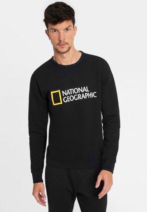 WITH LOGO - Sweatshirt - black