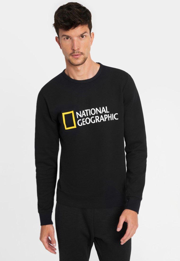 National Geographic - WITH LOGO - Sweatshirt - black