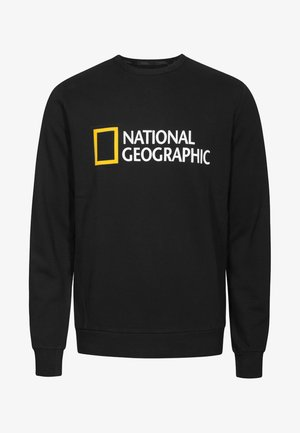 WITH LOGO - Sweatshirt - black