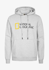 National Geographic - Hoodie - light grey melange - 4