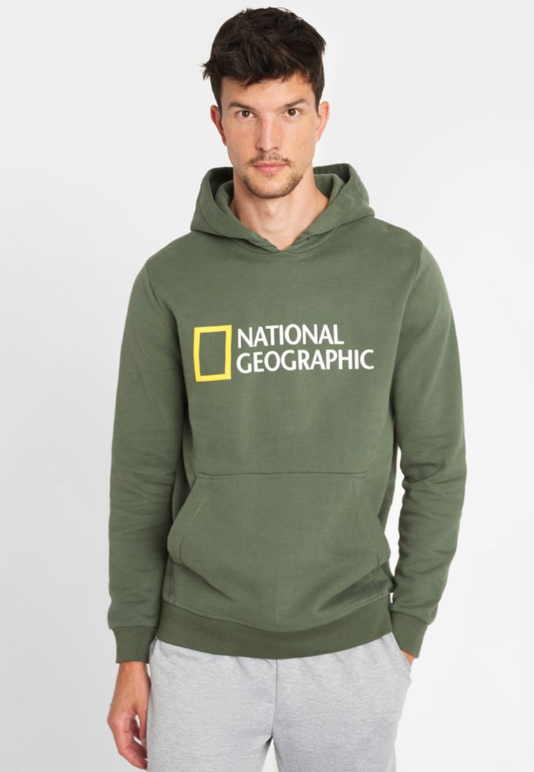 National Geographic - Hoodie - olive