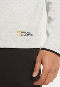 National Geographic - Hoodie - light grey melange - 3