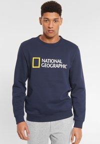 National Geographic - Sweatshirt - navy - 0