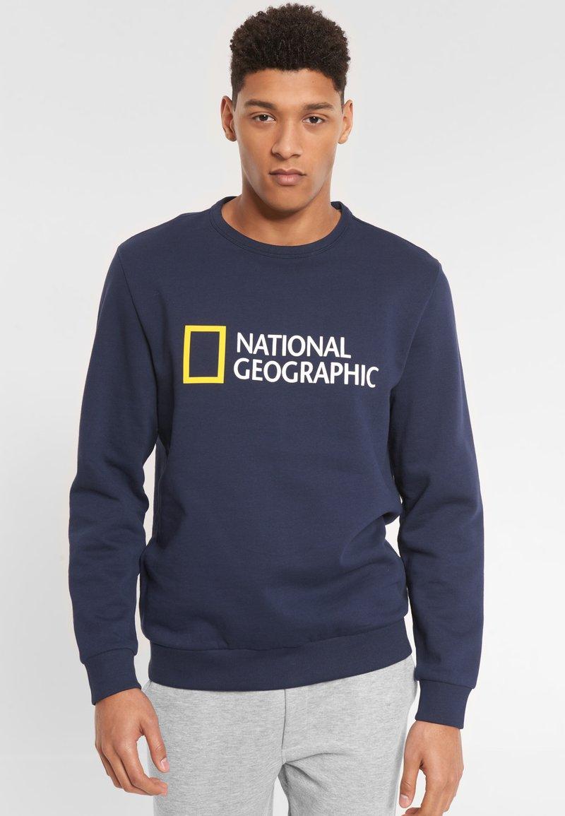 National Geographic - Sweatshirt - navy
