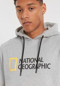 National Geographic - Hoodie - light grey melange - 2