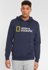 National Geographic - Hoodie - navy - 0