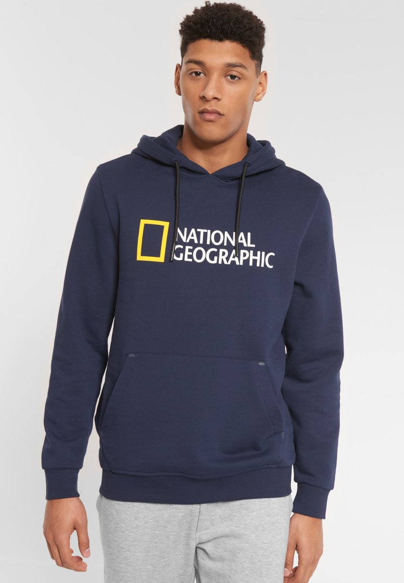 National Geographic - Hoodie - navy
