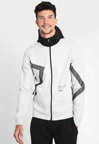 National Geographic - Zip-up hoodie - light grey melange - 0