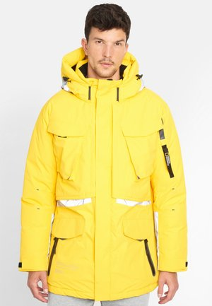 Down jacket - yellow