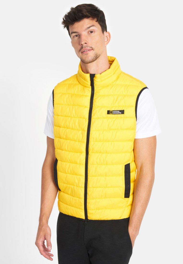 National Geographic - Waistcoat - yellow