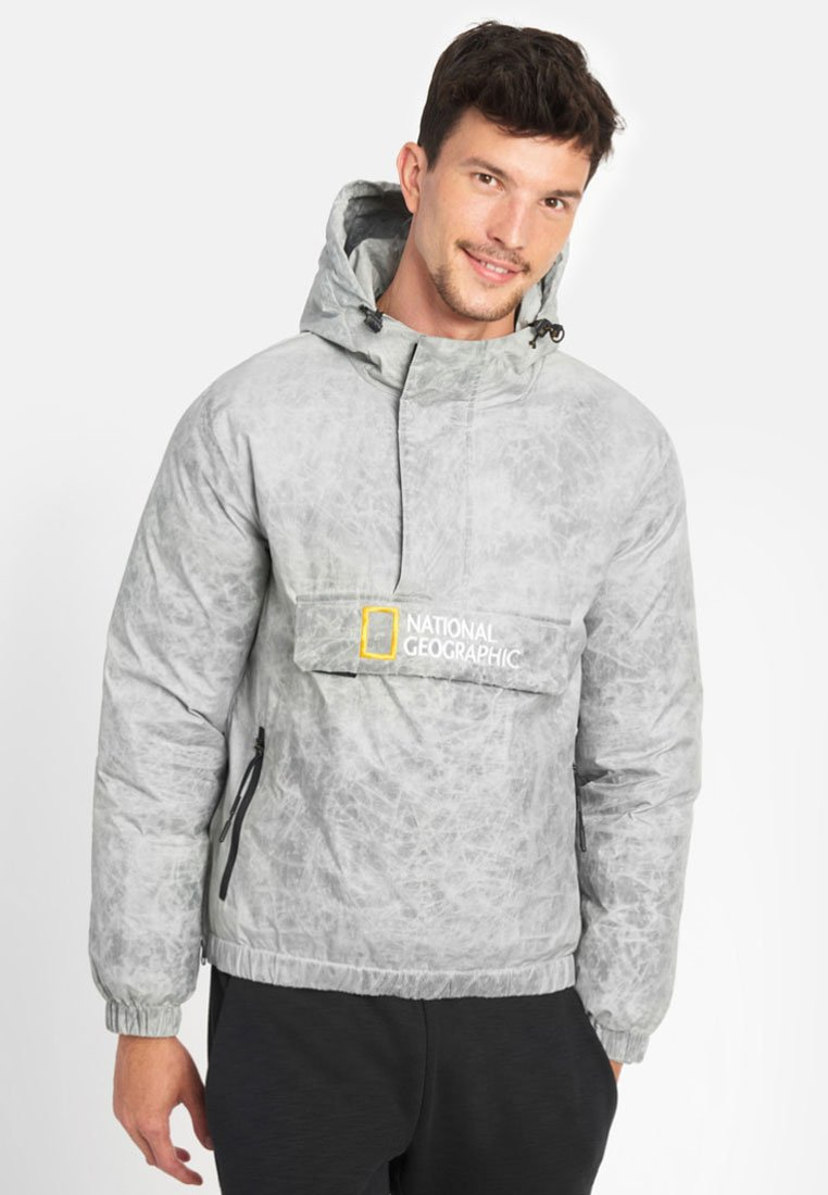 National Geographic - Windbreaker - light grey