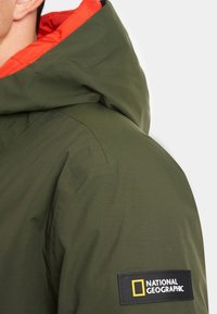 National Geographic - 2-IN-1 - Parka - dark olive - 5