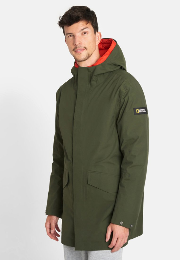 National Geographic - 2-IN-1 - Parka - dark olive