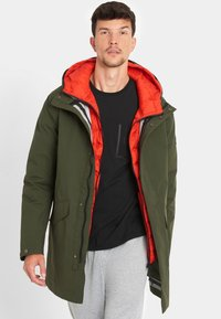 National Geographic - 2-IN-1 - Parka - dark olive - 2