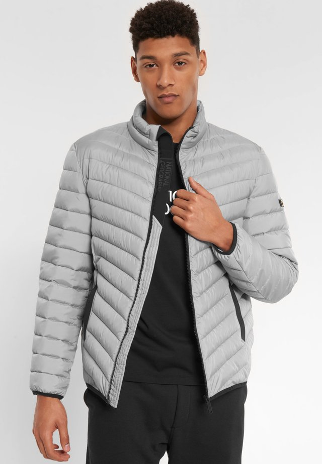 Winter jacket - light grey