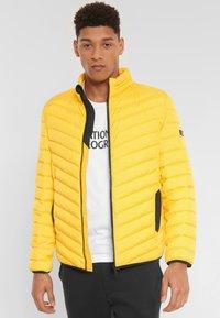 National Geographic - Winter jacket - lemon chrome - 2