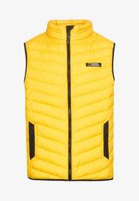 National Geographic - NO GOOSE - Waistcoat - lemon chrome - 5