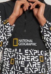 National Geographic - Windbreaker - black - 2