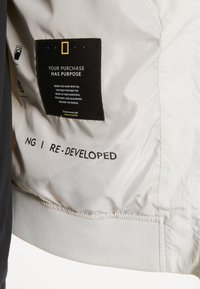 National Geographic - RE-DEVELOPED BLOUSON - Bomber Jacket - offwhite - 5