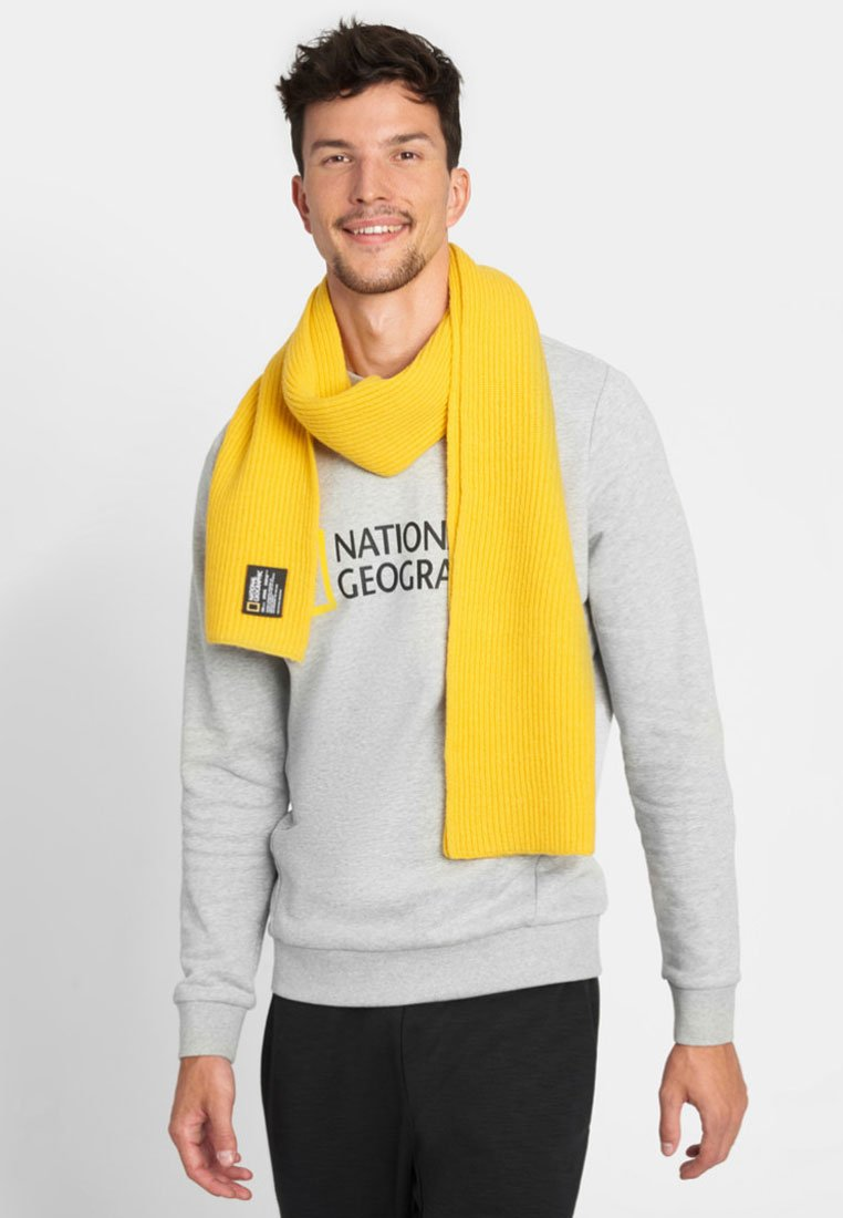 National Geographic - Scarf - lemon chrome