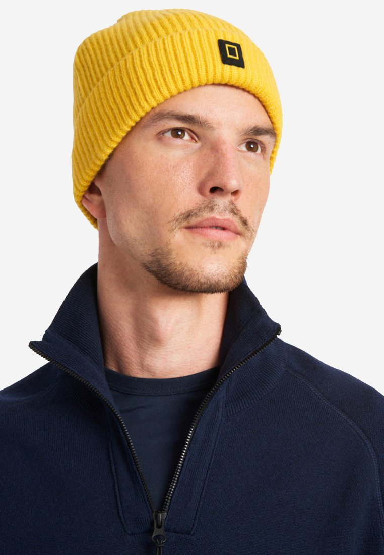 National Geographic - Beanie - lemon chrome