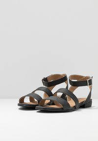 NAE Vegan Shoes - GATRIA - Sandály - black - 2