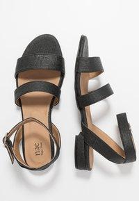 NAE Vegan Shoes - GATRIA - Sandály - black - 1