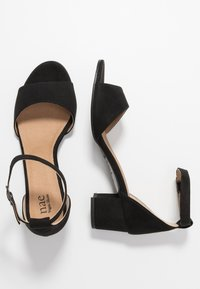 NAE Vegan Shoes - CORA - Sandály - black - 3