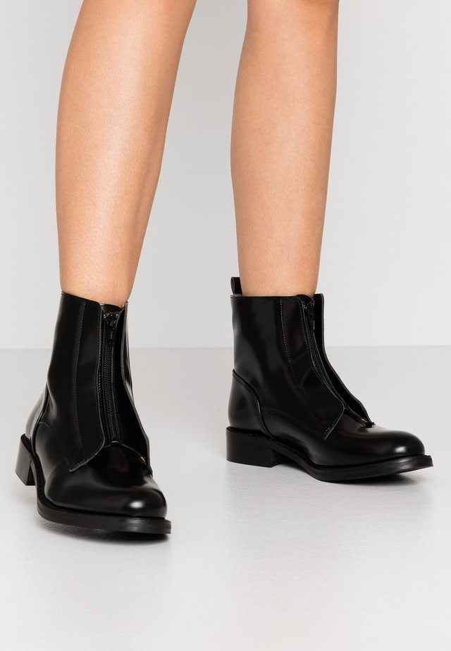 ZIPME - Classic ankle boots - black