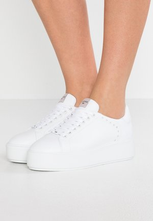 ELISE LACE PERFO - Sneakersy niskie - white