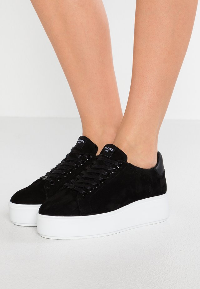 ELISE LACE PERFO - Trainers - black
