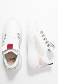 Nubikk - LUCY ROYAL CROCO - Sneakersy niskie - white - 3