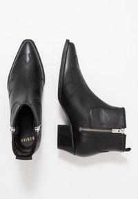Nubikk - HOLLY GOLF - Ankelboots - black - 3