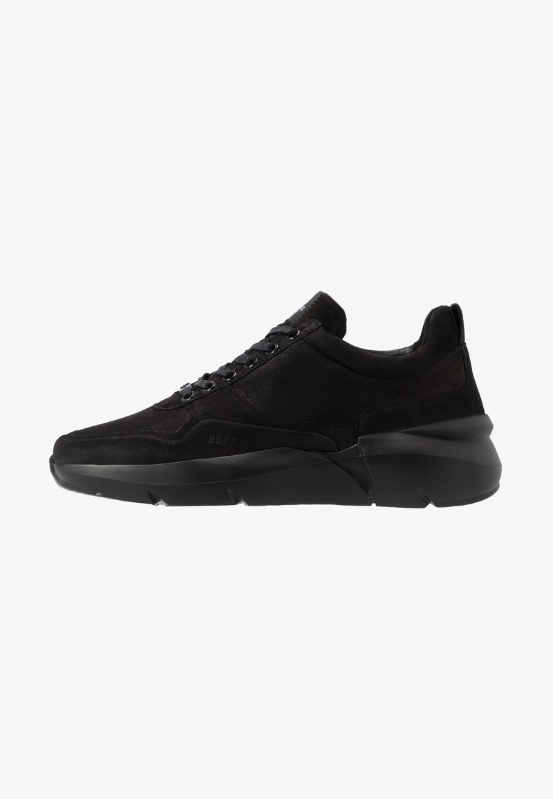 Nubikk - ELVEN TANUKI - Sneakers basse - black raven