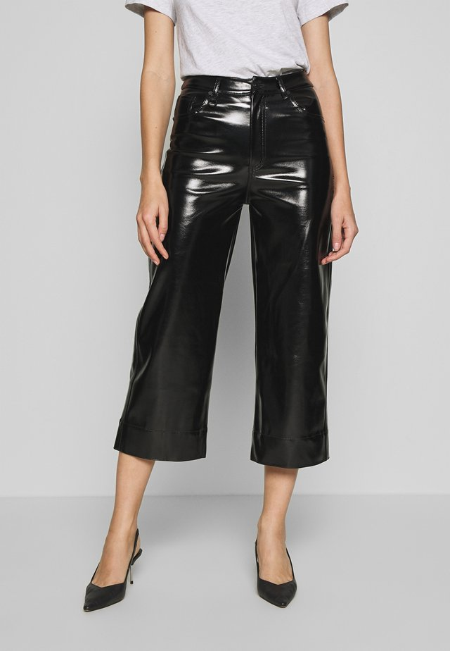 PIXIE PANT - Spodnie materiałowe - black