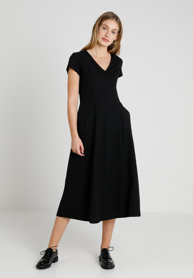 RYDER DRESS LONG - Długa sukienka - black