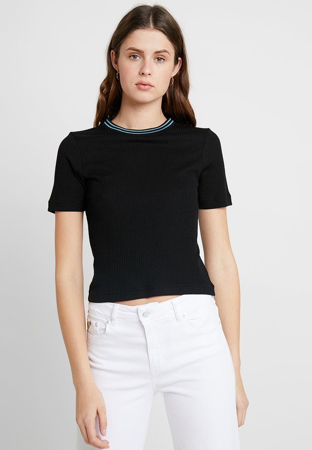 ELLA TEE - Print T-shirt - black