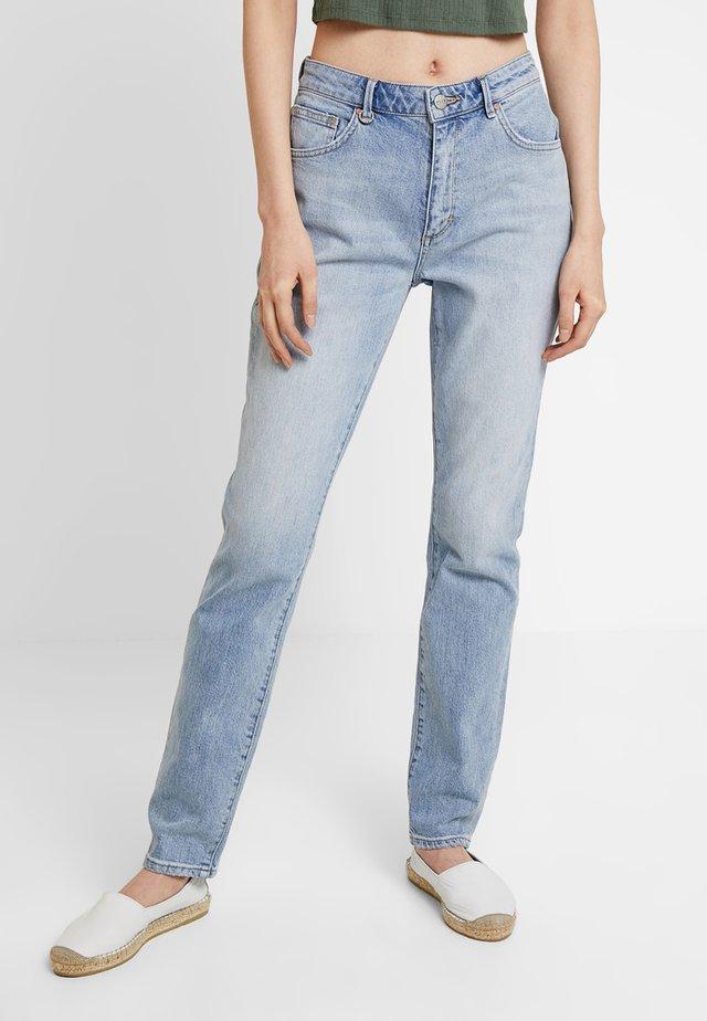 LEXI - Jeans Straight Leg - dusty blue