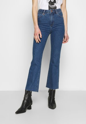 MARILY - Bootcut jeans - blue denim