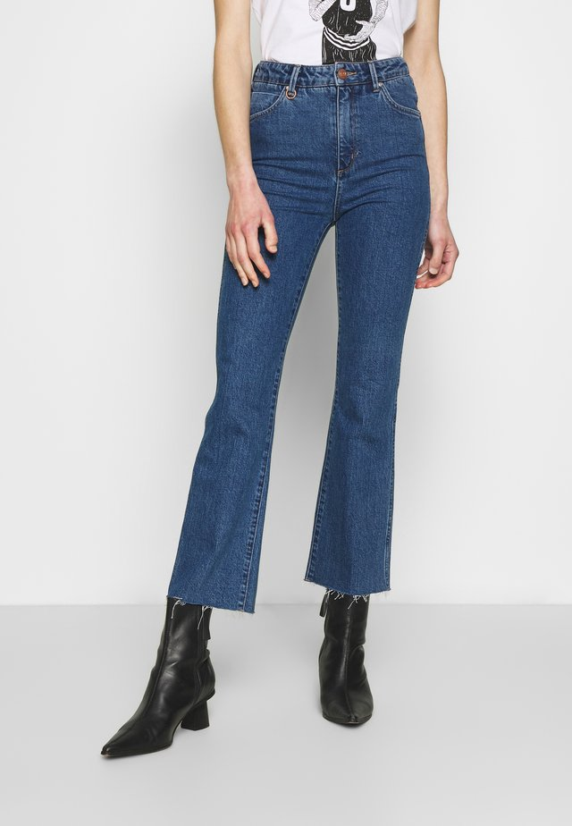 MARILY - Bootcut jeans - blue denim
