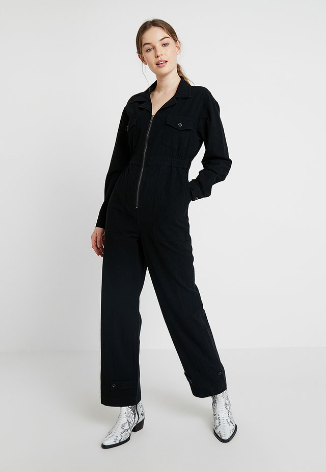 FLIGHT SUIT - Overal - midnight black